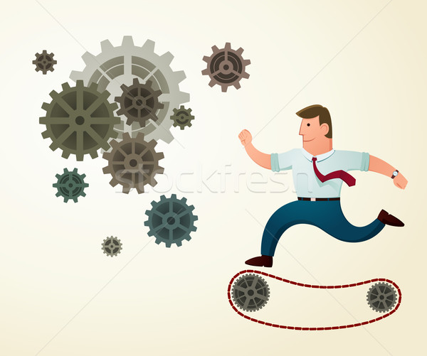 dedicated and hardworker  Stock photo © riedjal