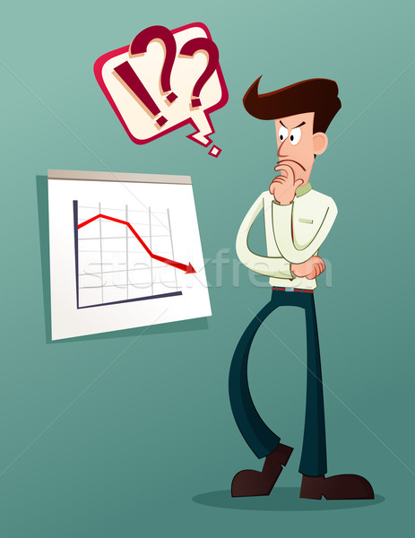 analyze business result Stock photo © riedjal