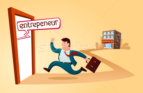 start my own business Stock photo © riedjal