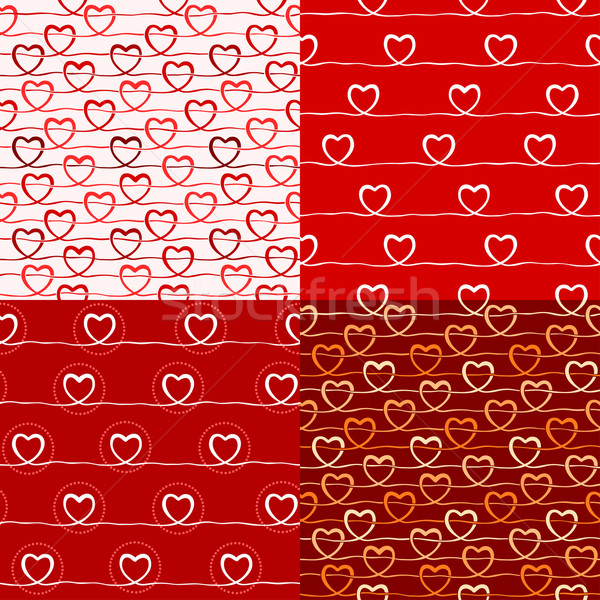 various love pattern Stock photo © riedjal