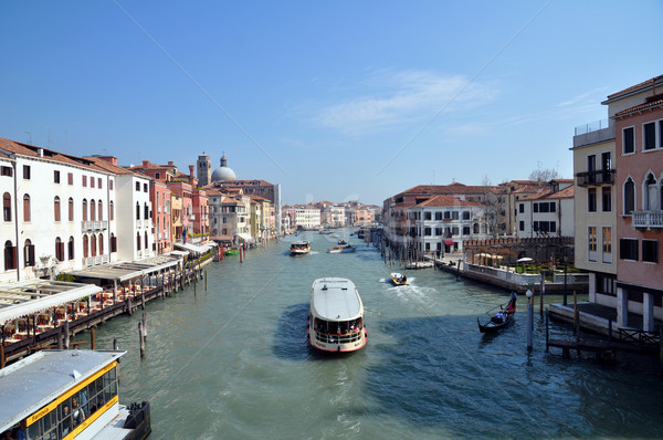 Canal Grande Venezia Stock photo © rmarinello