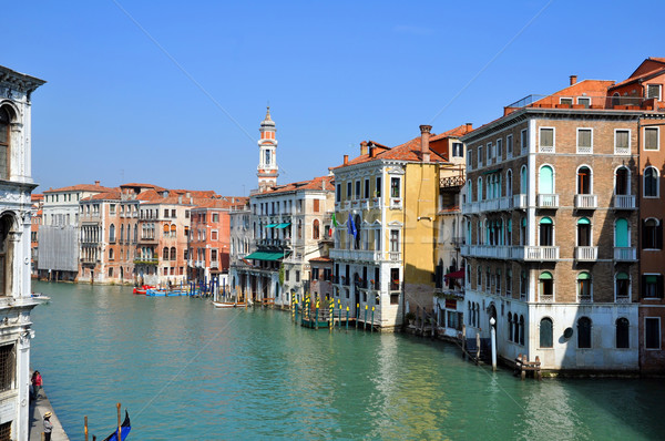 Venezia Canal Grande Stock photo © rmarinello