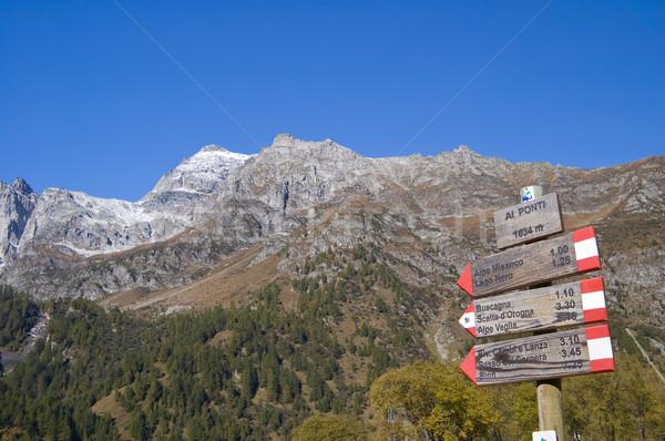 Alpe Devero alpine landscape Stock photo © rmarinello