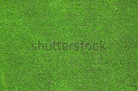 Vert herbe artificielle sport champs jardins plastique Photo stock © rmarinello