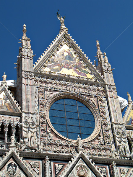 siena duomo facade Stock photo © rmarinello