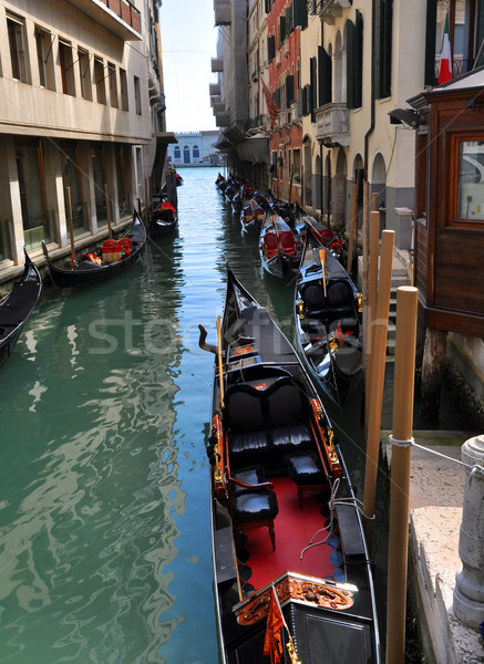 Rio water channel Venezia Stock photo © rmarinello