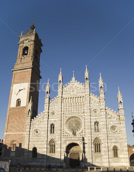 Duomo of Monza Stock photo © rmarinello