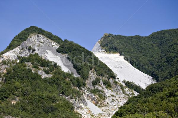 quarry of white marble Stock photo © rmarinello