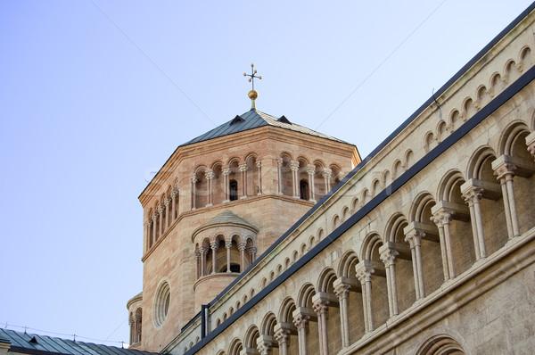 Detail of the Duomo of Trento Stock photo © rmarinello