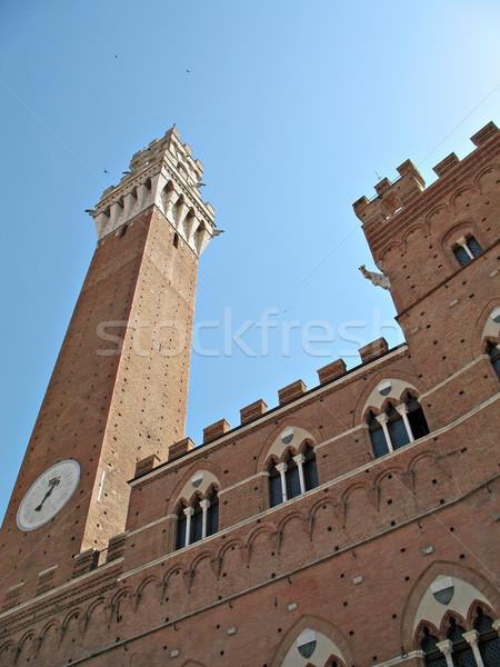 Siena Torre Mangia Stock photo © rmarinello