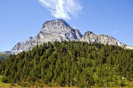Monte Leone Lepontine Alps Stock photo © rmarinello