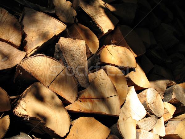 дрова каштан дерево древесины фон деревья Сток-фото © rmarinello