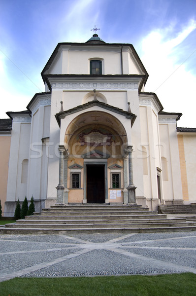 Sacro Monte Calvario Sanctuary Stock photo © rmarinello