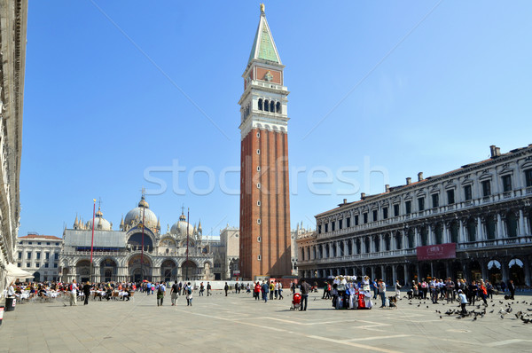 Piazza San Marco Venezia Stock photo © rmarinello