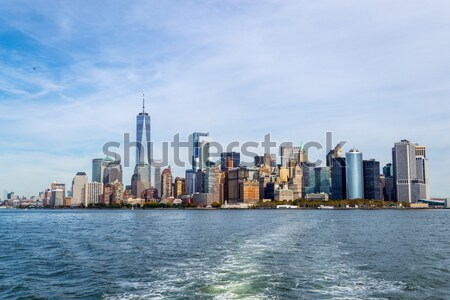 Midtown from Brooklyn Stock photo © rmbarricarte