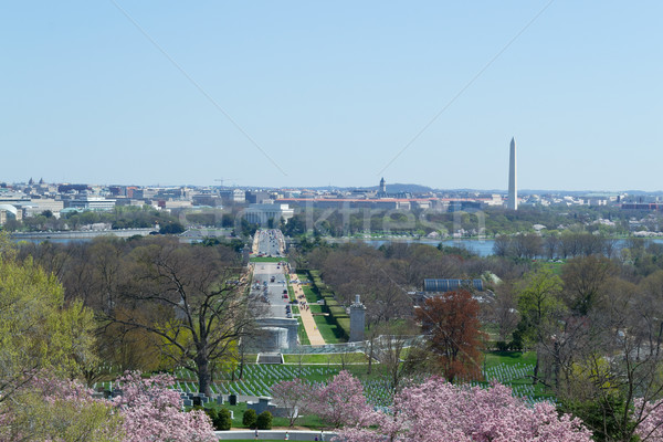 National Mall from Arlington Cemetery  Stock photo © rmbarricarte