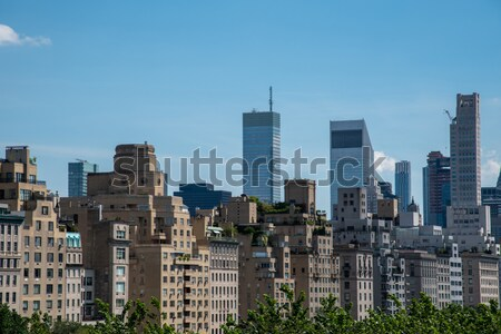 Upper East Side from the MET Stock photo © rmbarricarte