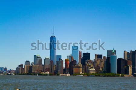 Sur Manhattan batería parque meridional punta Foto stock © rmbarricarte