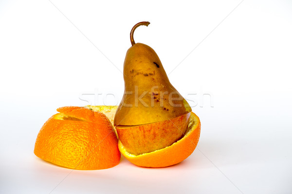 Multiple fruits in one Stock photo © rmbarricarte