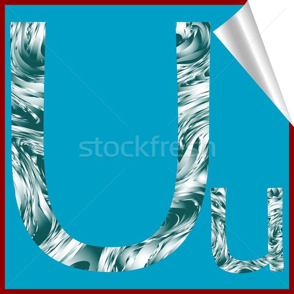 алфавит письме вектора искусства иллюстрация больше Сток-фото © robertosch