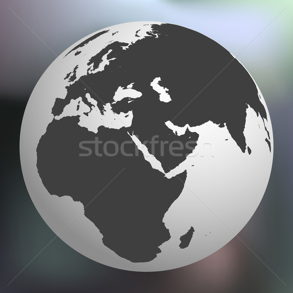 earth globe against abstract background Stock photo © robertosch