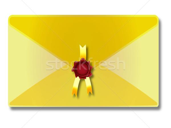 sealed envelope Stock photo © robertosch