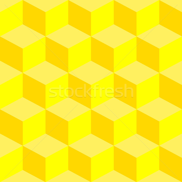 psychedelic pattern mixed yellow Stock photo © robertosch