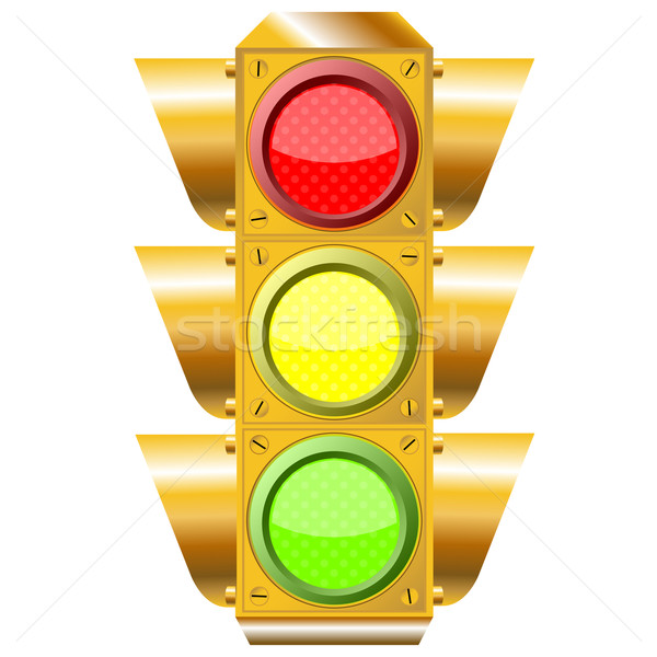 cross road traffic lights Stock photo © robertosch
