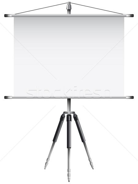 Scherm witte abstract vector kunst Stockfoto © robertosch