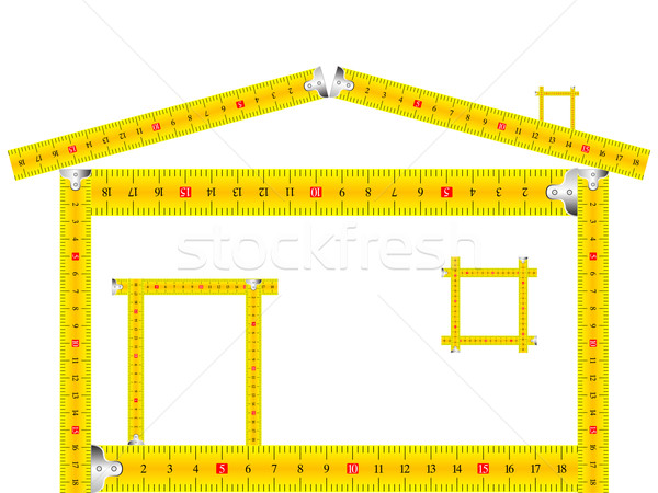 дома белый аннотация вектора искусства Сток-фото © robertosch