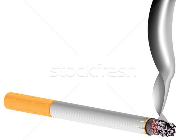 filter cigarette against white background Stock photo © robertosch
