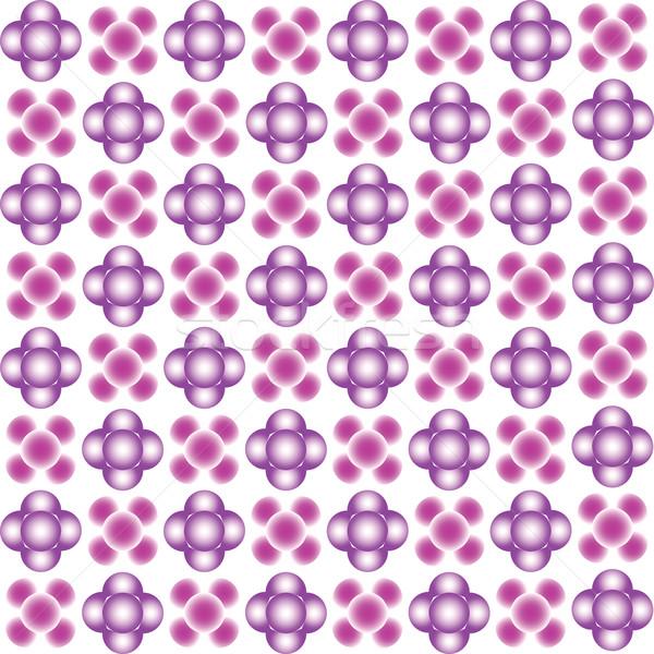 Paars bubbels naadloos textuur vector kunst Stockfoto © robertosch
