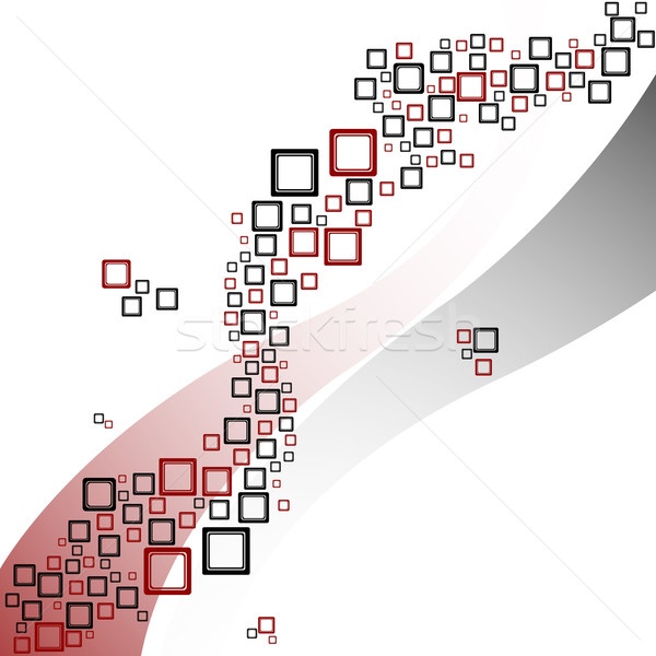 волны шаблон аннотация вектора искусства Сток-фото © robertosch