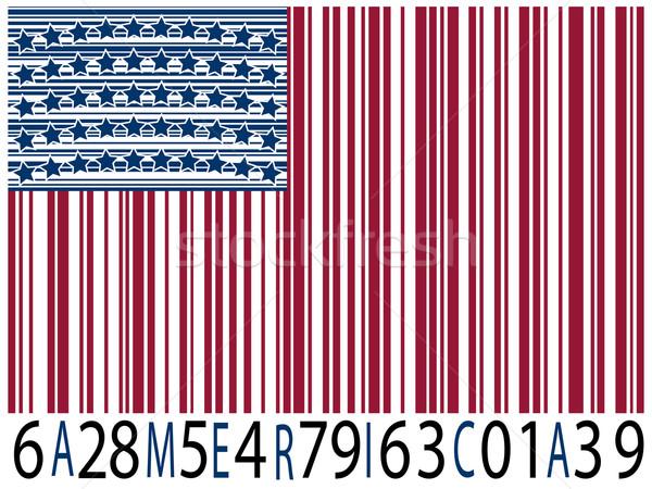 america bar codes flag Stock photo © robertosch