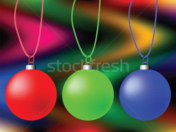 Stockfoto: Globes · trillend · gekleurd · textuur · abstract · vector