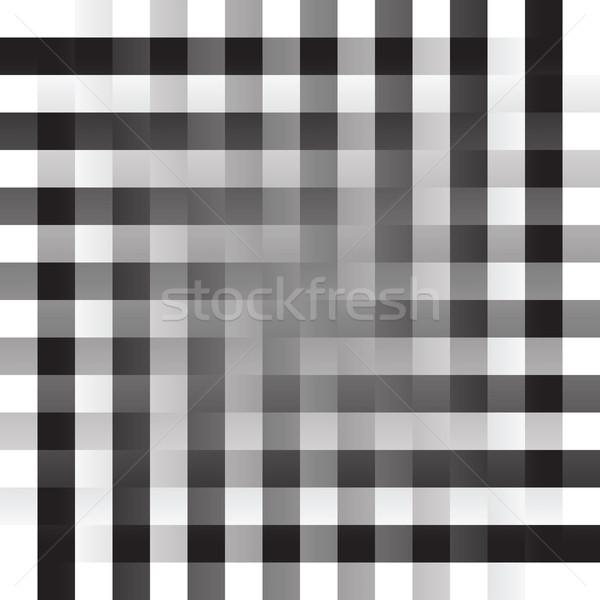 Retro négyzetek vektor művészet illusztráció több Stock fotó © robertosch