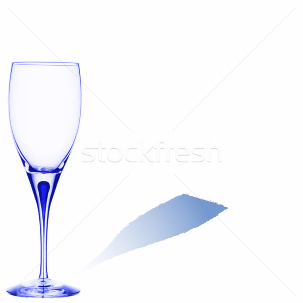 blue glass with space for text Stock photo © robertosch
