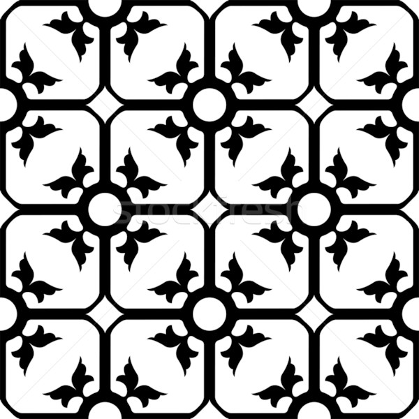 forged iron pattern Stock photo © robertosch