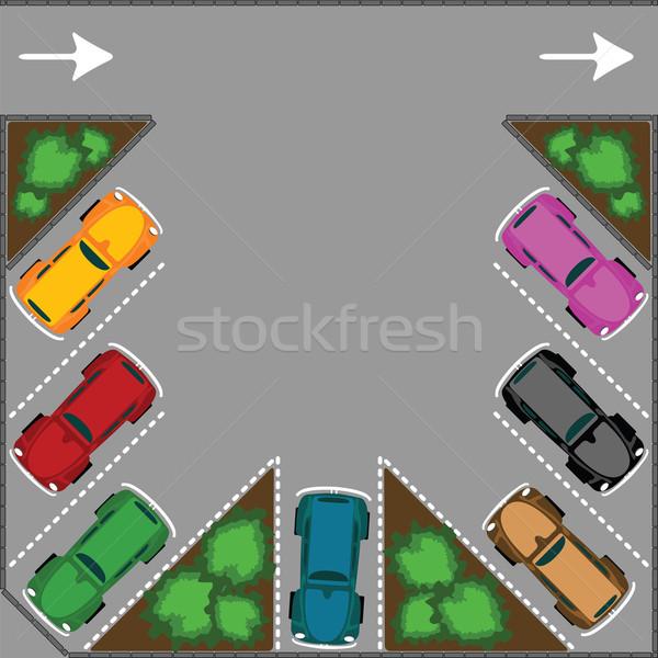 parking for cars Stock photo © robertosch