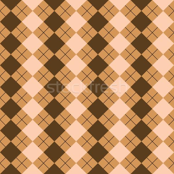 Suéter textura mixto marrón colores vector Foto stock © robertosch
