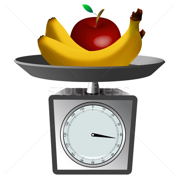 fruits and scale Stock photo © robertosch