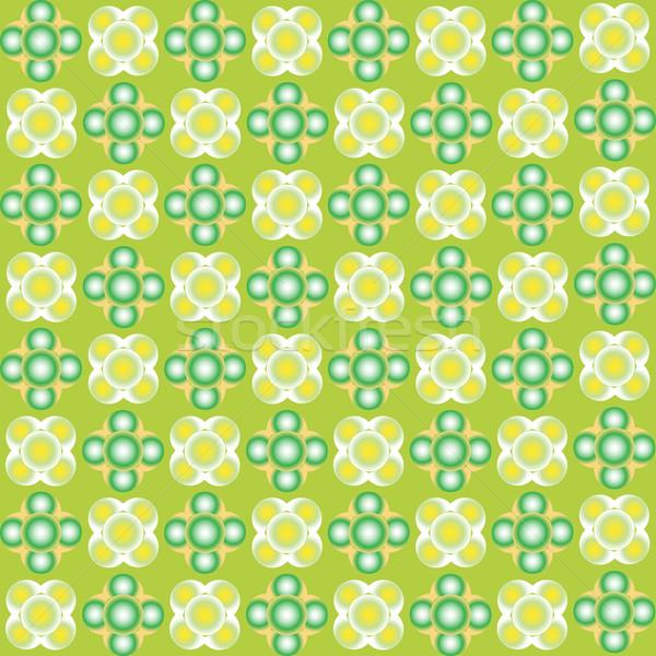 зеленый пузырьки бесшовный текстуры аннотация искусства Сток-фото © robertosch