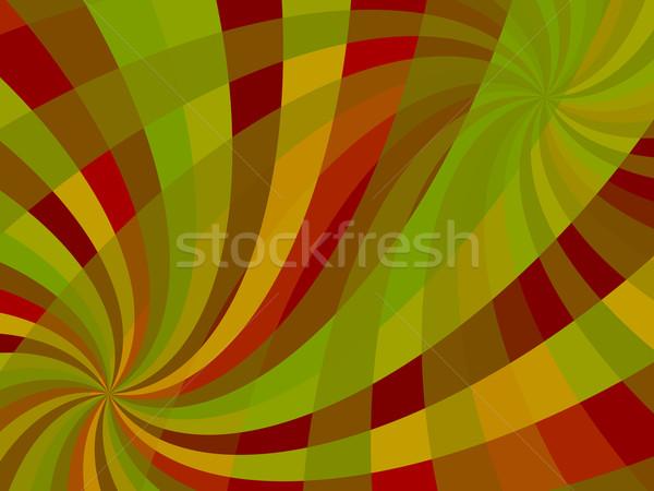 волнистый Swirl аннотация вектора искусства иллюстрация Сток-фото © robertosch
