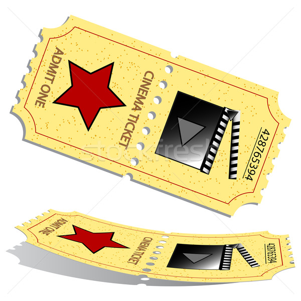 3d cinema tickets Stock photo © robertosch