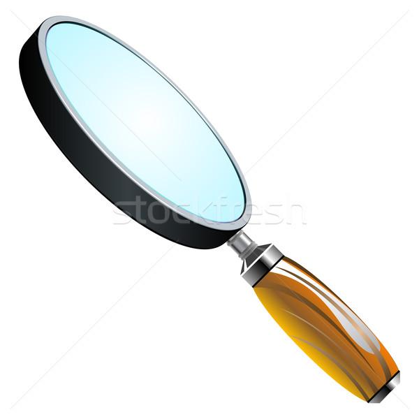 3d magnifying glass Stock photo © robertosch
