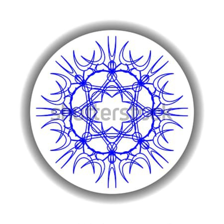 snow flake medallion Stock photo © robertosch