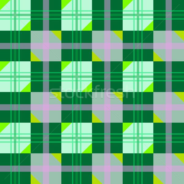 Bom textura verde geométrico abstrato arte Foto stock © robertosch