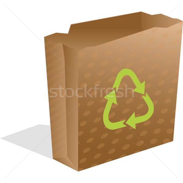 recycling paper bag Stock photo © robertosch