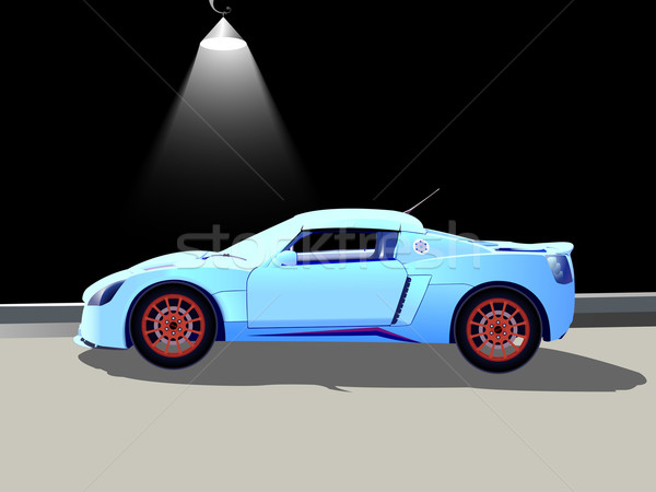 Sport auto abstract vector kunst Stockfoto © robertosch