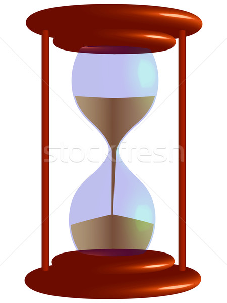 3d hour glass Stock photo © robertosch